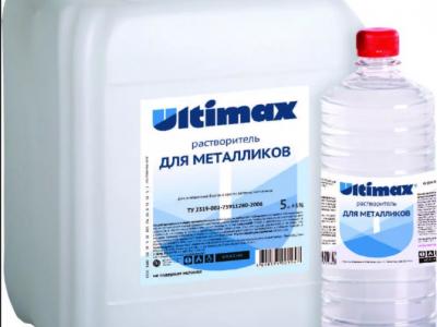 ULTIMAX Растворитель для металликов, 0,9л