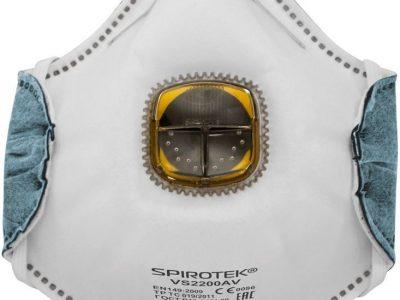 SPIROTEK Респиратор для защиты органов дыхания с клапаном FFP2 VS2200AV