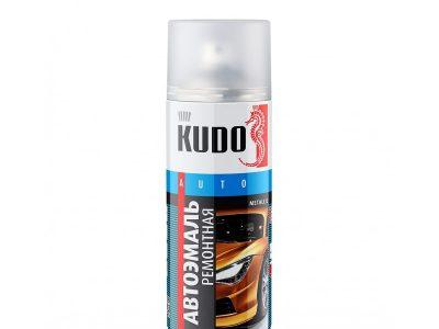 KUDO Краска спрей металлик 190 Калифорнийский мак, 520мл