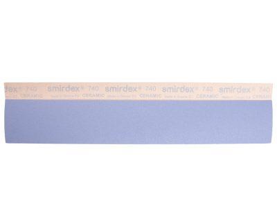 SMIRDEX Ceramic Velcro 740 Абразивные полоски 70*420мм, без отверстий P500