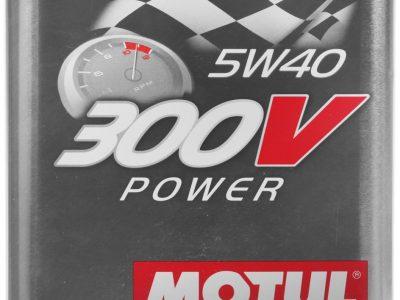 MOTUL Моторное масло 300V Power SAE 5w40 2л Full-synthetic