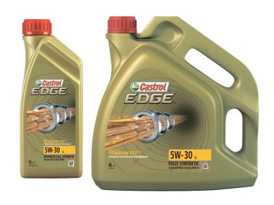 CASTROL Моторное масло Edge SAE 5W30 4л Full-synthetic