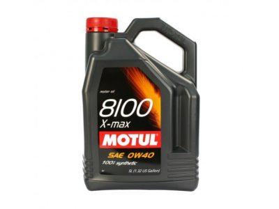 MOTUL Моторное масло 8100 X-max SAE 0w40 5л Full-synthetic