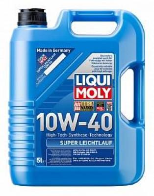 LIQUI MOLY Моторное масло Super Leichtlauf SAE 10w40 5л Semi-synthetic