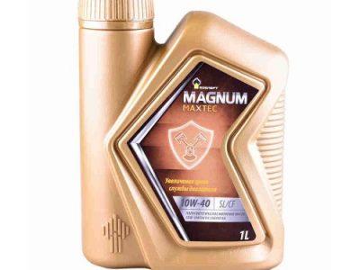 РОСНЕФТЬ Моторное масло Magnum Maxtec SAE 10w40 1л Semi-synthetic