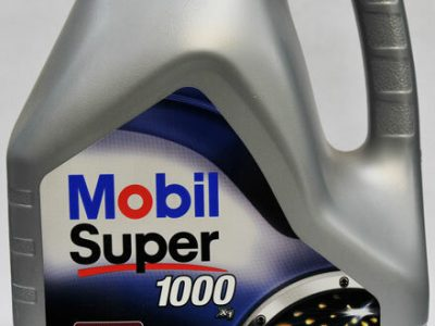 MOBIL Моторное масло Super 1000×1 SAE 10w40 4л Mineral oil