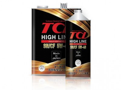 TCL Моторное масло High Line SAE 5w40 4л Full-synthetic