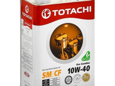 TOTACHI Моторное масло Eco Gasoline SAE 10w40 4л Semi-synthetic