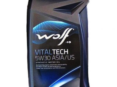 WOLF Моторное масло Vital Tech ASIA/US SAE 5w30 1л Full-synthetic