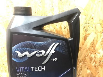 WOLF Моторное масло Vital Tech SAE 5w30 4л Full-synthetic