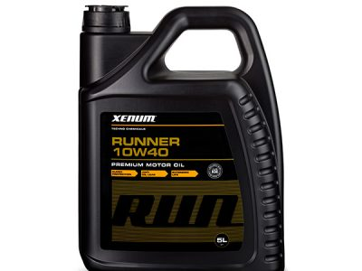 XENUM Моторное масло Runner SAE 10w40 5л Full-synthetic