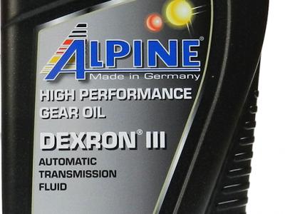 ALPINE Трансмиссионное масло АКПП Dexron III 1л Full-synthetic