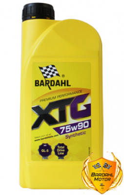 BARDAHL Трансмиссионное масло МКПП XTG SAE 75w90 1л Full-synthetic