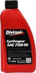 DIVINOL Трансмиссионное масло МКПП Synthogear SAE 75w90 1л Full-synthetic