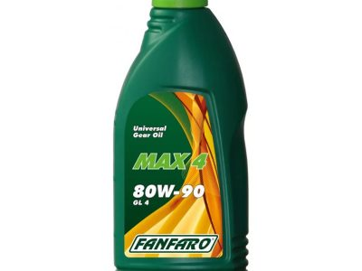 FANFARO Трансмиссионное масло МКПП MAX-4 SAE 80w90 1л Mineral oil