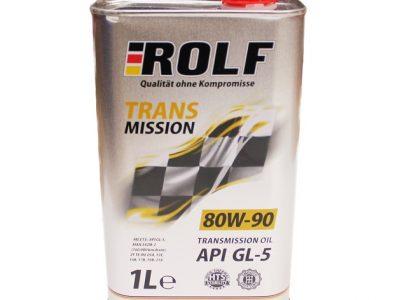 ROLF Трансмиссионное масло МКПП SAE 80w90 1л Mineral oil