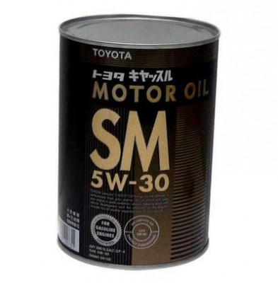 TOYOTA Моторное масло Motor Oil SAE 5w30 1л Semi-synthetic