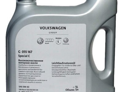 VW Моторное масло Special C SAE 0w30 5л Full-synthetic