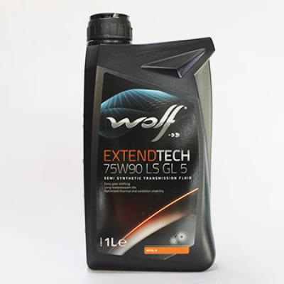 WOLF Трансмиссионное масло МКПП ExtendTech SAE 75w90 1л Semi-synthetic