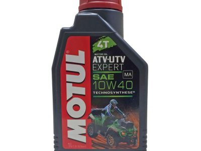 MOTUL Масло для мототехники ATV-UTV Expert 4T SAE 10w40 1л Semi-synthetic