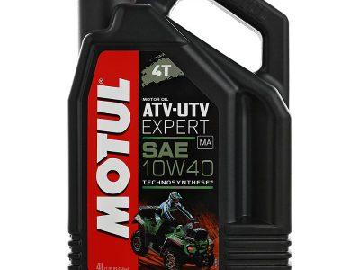 MOTUL Масло для мототехники ATV-UTV Expert 4T SAE 10w40 4л Semi-synthetic