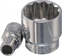 OMBRA Головка торцевая 12-гранная 1/2″DR, 24 мм