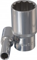OMBRA Головка торцевая 12-гранная глубокая 1/2″ DR, 12 мм