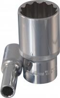 OMBRA Головка торцевая 12-гранная глубокая 1/2″ DR, 19 мм