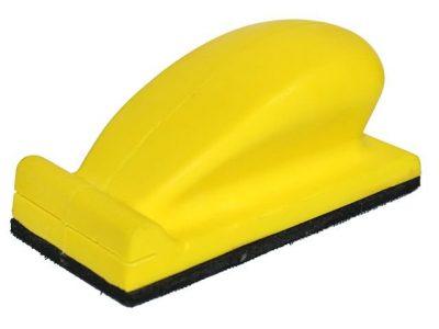 РУССКИЙ МАСТЕР Блок шлифовальный ручной на липучке, 70х125 мм