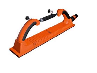 WIEDER KRAFT Блок шлифовальный гибкий с пылеотводом и креплением на липучке, 70х400 мм, 53 отв.