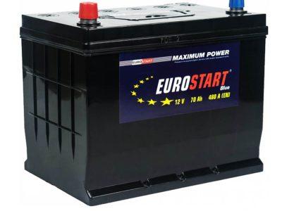 EUROSTART Аккумуляторная батарея автомобильная 70 A/h обратная полярность Asia