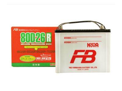 FURUKAWA BATTERY Аккумуляторная батарея автомобильная Super Nova 68 A/h прямая полярность