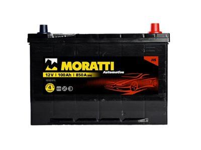 MORATTI Аккумуляторная батарея автомобильная 100 A/h прямая полярность Asia