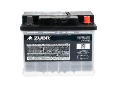 ZUBR Аккумуляторная батарея автомобильная Original  66 A/h обратная полярность