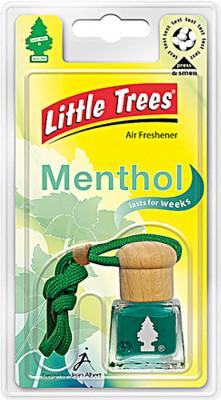 LITTLE TREES Ароматизатор подвесной жидкостной «Bottle Ментоловый бриз»