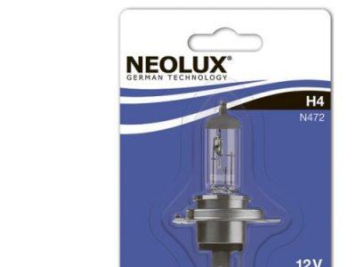 NEOLUX Лампа автомобильная H4 12V 60/55W в блистере, 1 шт.