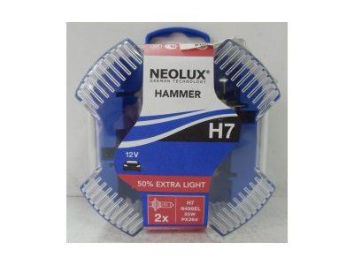 NEOLUX Лампа автомобильная H7 12V 55W Extra Light +50% света DuoBox, 2 шт.