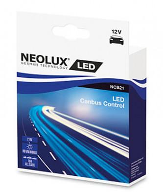 NEOLUX Лампа автомобильная обманка Canceller LED 12V 21W Canbus Control, 2 шт.