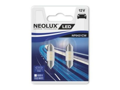NEOLUX Лампа автомобильная Fest T10.5 12V LED 0.50W 6000K в блистере, 2 шт.