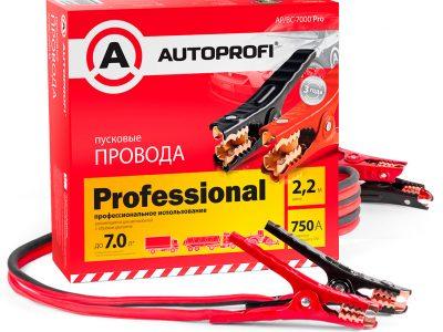 AUTOPROFI Провода пусковые, высокой нагрузки 750A 2,2м