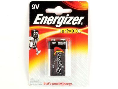 ENERGIZER Батарейки MAX 9V-9B-6LR61 1шт