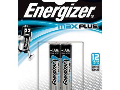 ENERGIZER Батарейка алкалиновая MAX Plus LR3 ААА/E92 ВР2 блистер 2шт