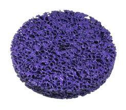 РУССКИЙ МАСТЕР Круг для снятия ржавчины на резьбе фиолетовый d=150мм/M14