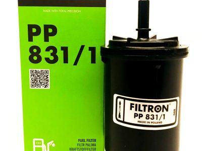 FILTRON Фильтр топливный PP 831/1