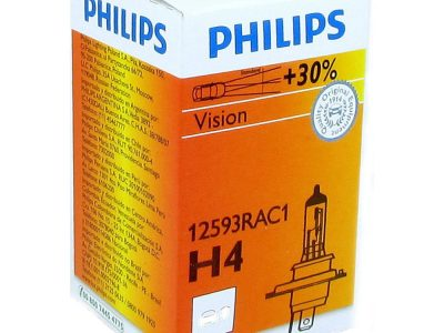 PHILIPS Лампа автомобильная галогенная H4 12V 100/55W P43t-38 Rally, 1 шт.