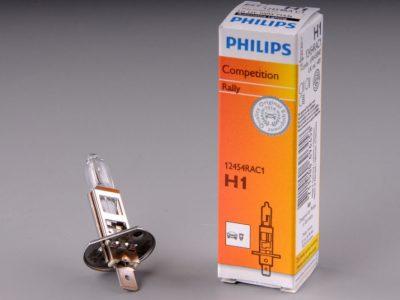 PHILIPS Лампа автомобильная галогенная H1 12V 85W P14,5s Rally, 1 шт.