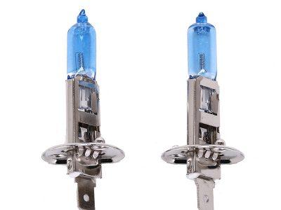 REALIGHT Лампа автомобильная галогеновая H1 12V 55W, 2 шт.