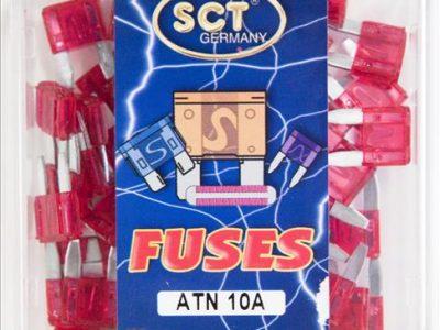 SCT Предохранитель штекерный ANS 10,0 A Fuse Midi, 1 шт.