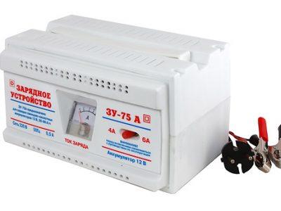 ТАМБОВ Зарядное устройство ЗУ-75A для АКБ 12V (4-6A)