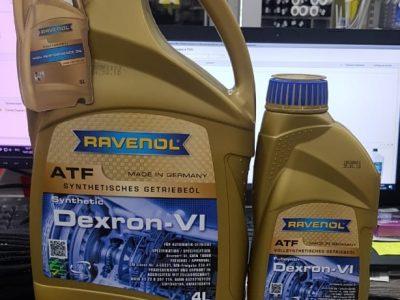 RAVENOL Трансмиссионное масло DEXRON VI 1л  Full-synthetic